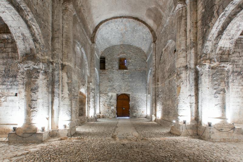 Chapelle classée Notre Dame des Amandiers Boisset Gaujac