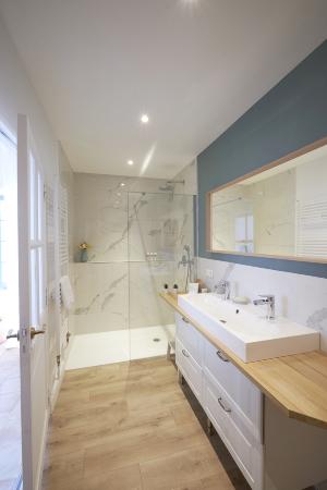 Suite Hygge salle de bain Domaine Notre Dame des Amandiers
